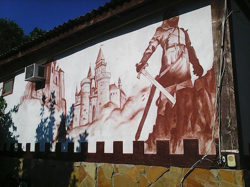 Роспись стен в интерьере - Фото 2