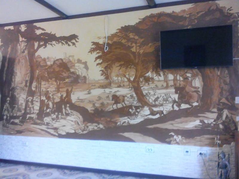 Роспись стен в интерьере - Фото 5