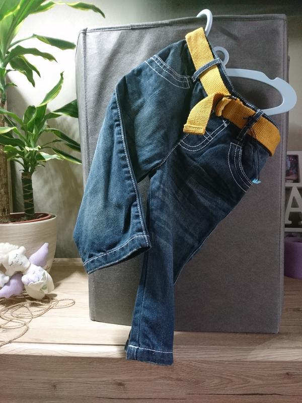 Крутые джинсы m&spencer на 12-18 мес