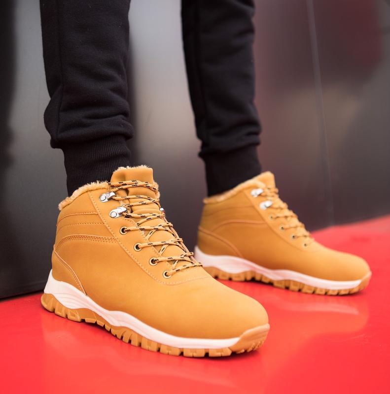 Тотальная Распродажа Ботинки Мужские Зимняя Обувь на меху Columbi