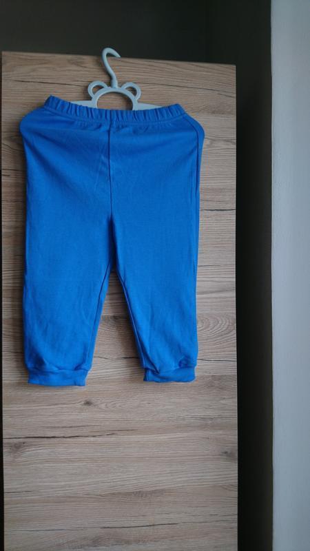 Стильные синие штаны george  на 12-18 мес