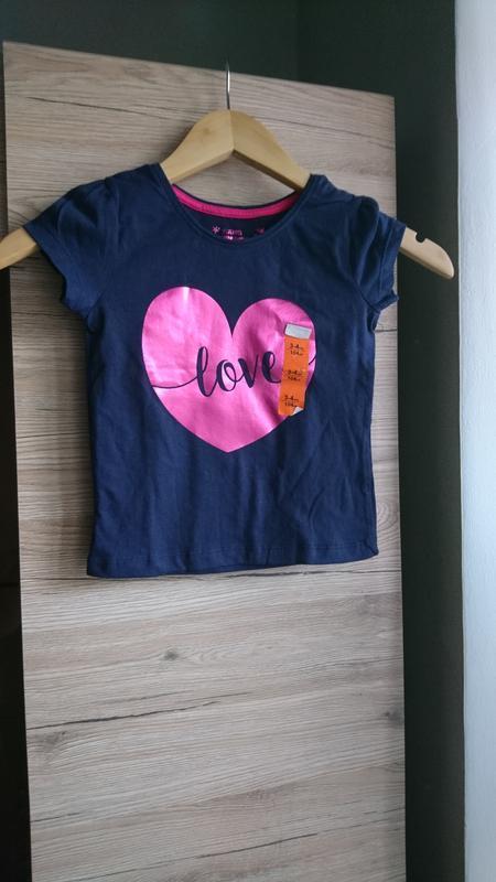 Стильная футболка с сердцем young dimension