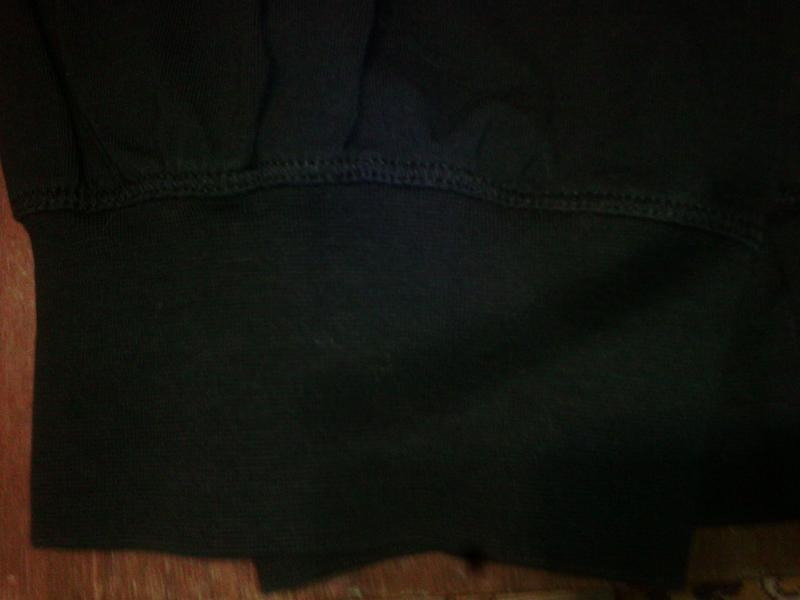 Спортивные трикотажные  штаны с высокой талией, на высокую жен... - Фото 5