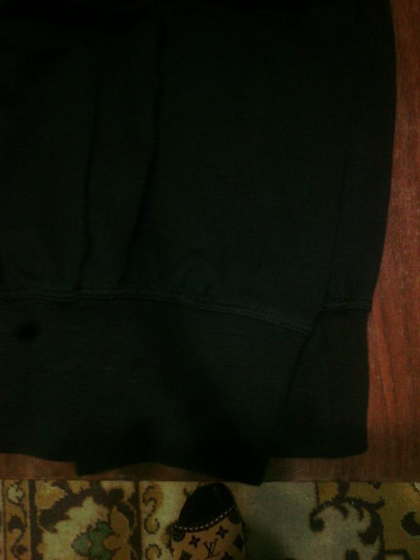 Спортивные трикотажные  штаны с высокой талией, на высокую жен... - Фото 6