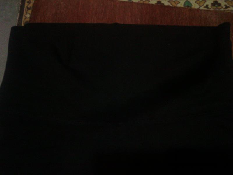 Спортивные трикотажные  штаны с высокой талией, на высокую жен... - Фото 9