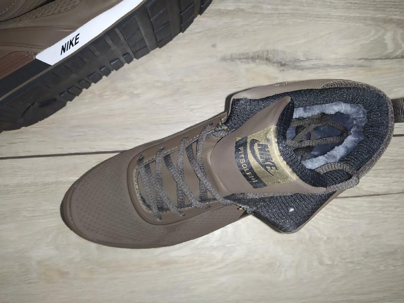 Зимние ботинки nike  зимові мужские кроссовки - Фото 3