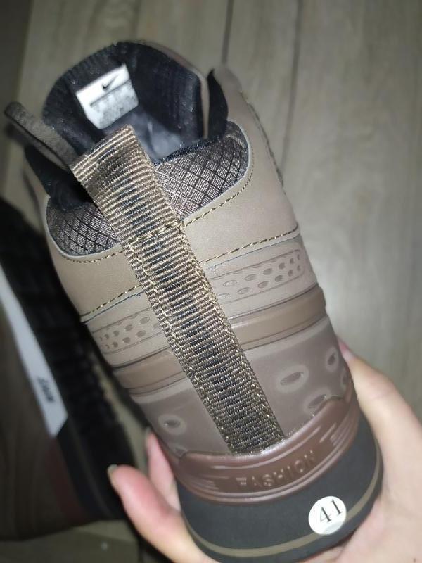 Зимние ботинки nike  зимові мужские кроссовки - Фото 5