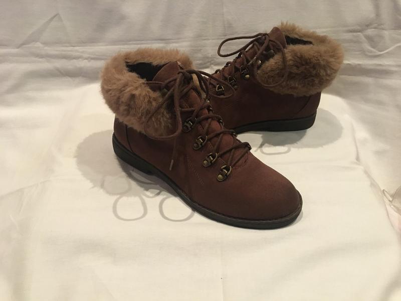Ботинки * dorothy perkins* р.38 ( 25.00 см)