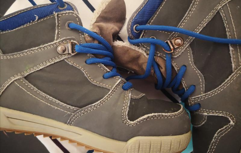 Ботинки теплые   размер 33,легкие удобные