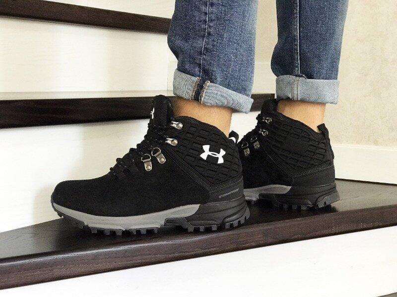 Зимние мужские ботинки under armour  зима зимові кроссовки выс...
