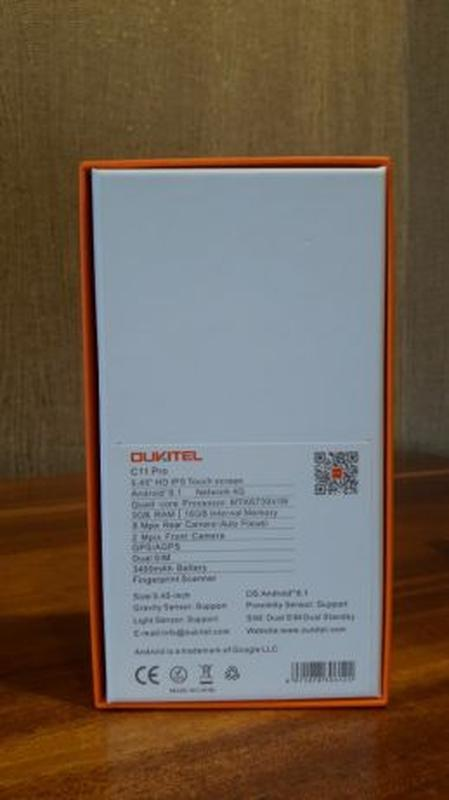 "OUKITEL C11 Pro 3/16 Black Blue 5.5"" 3400mAh Доставка Большой ... - Фото 2"