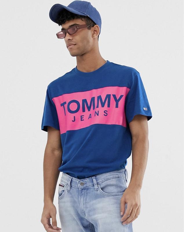 Футболка TOMMY JEANS с лого на груди ! - Фото 4