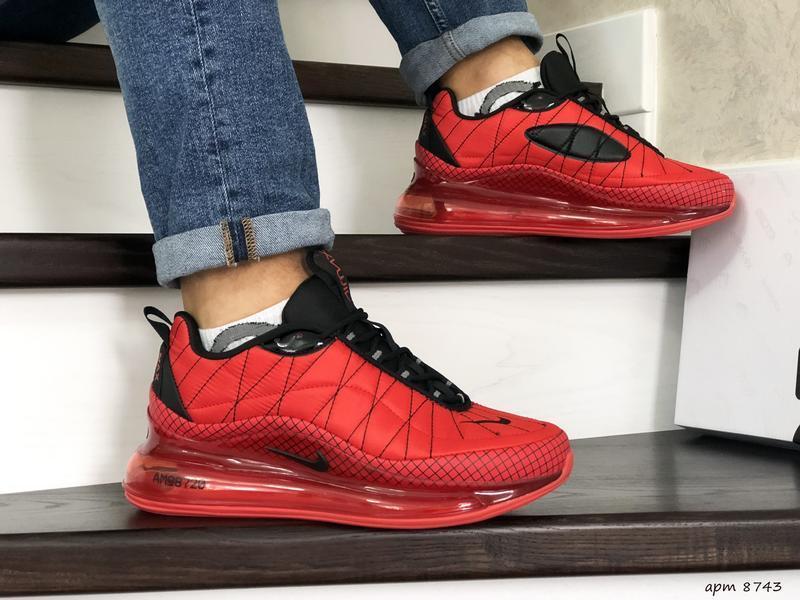Nike air max 720 red мужские демисезонные кроссовки найк осень...