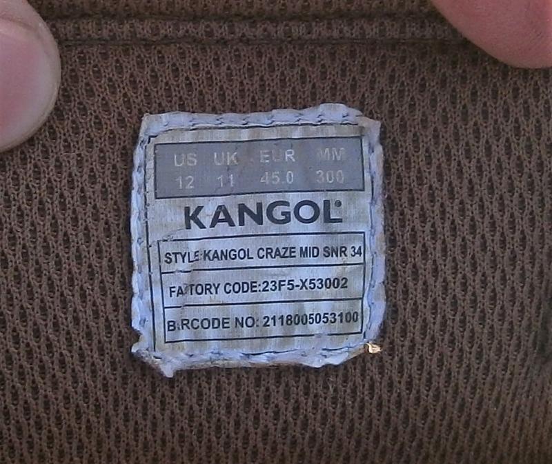 Черевики kangol craze mid snr 34 оригінал натуральна кожа - Фото 4