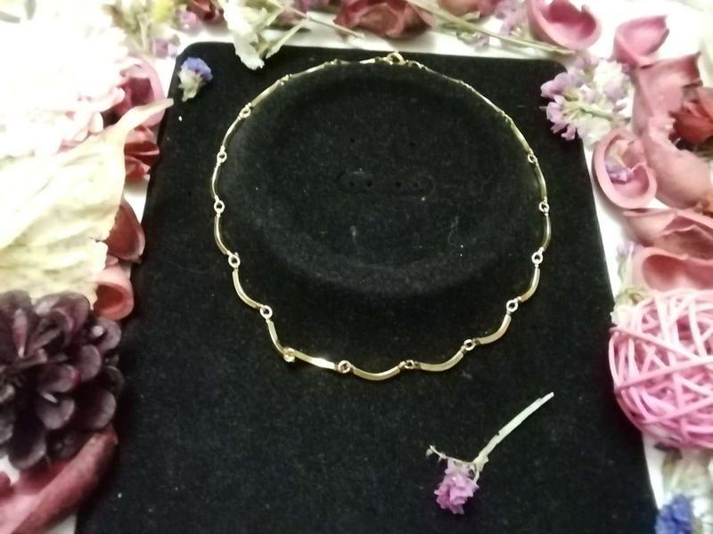 Винтажное ожерелье чокер + подарок