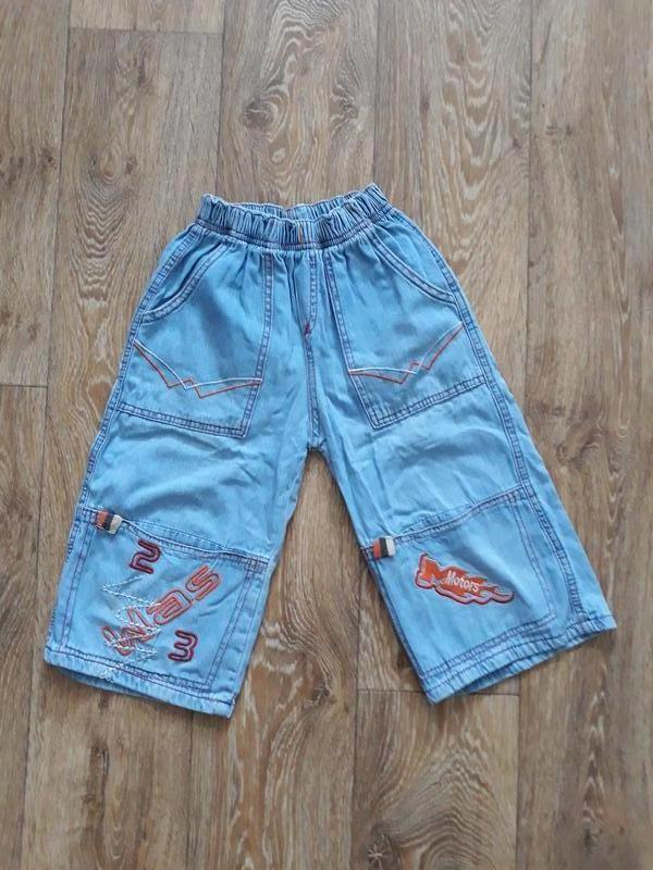 Клёвые джинсовые бриджи