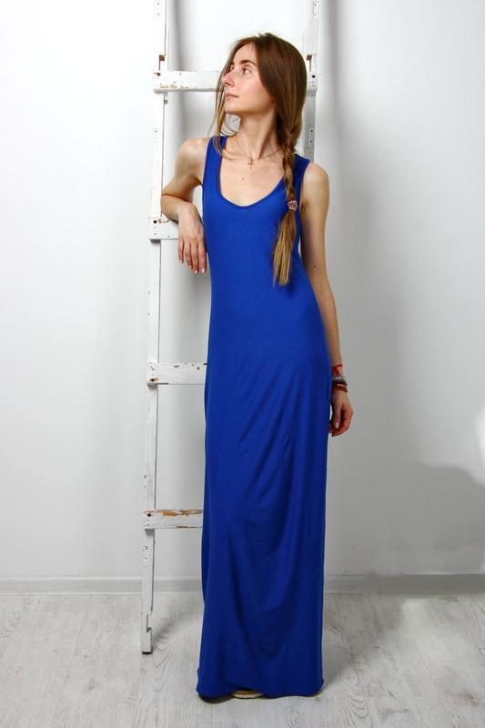 Платье сарафан длинный
