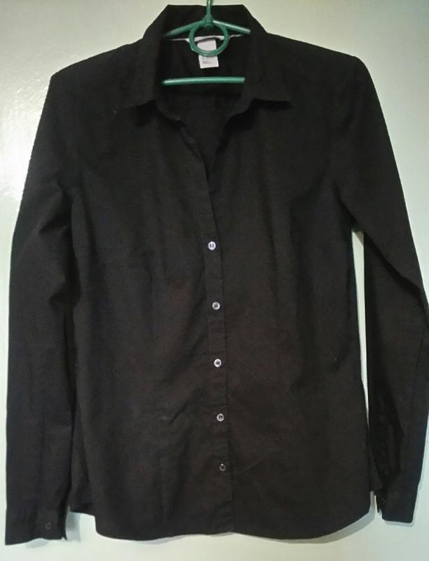 Классическая рубашка h&m