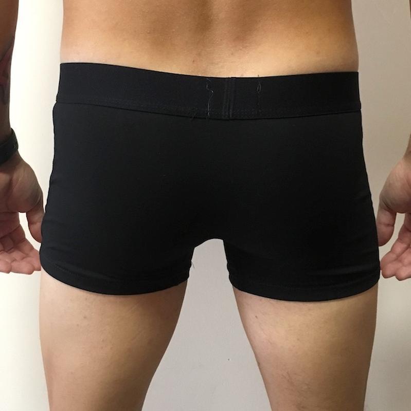 Мужские трусы боксерки, белье champion - черные - Фото 3
