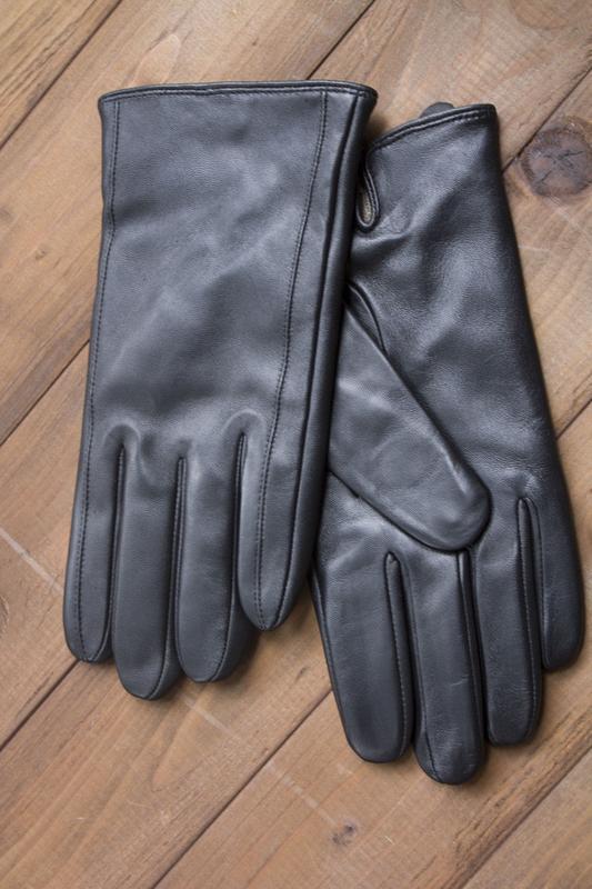 Мужские кожаные перчатки из очень качественной кожи