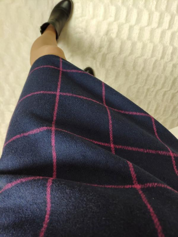 Теплая юбка в клетку tu, p-p uk 8/s - Фото 4