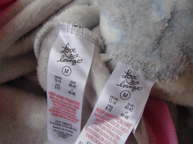 Пижама флис primark love to lounge англия м,12-14 - Фото 7