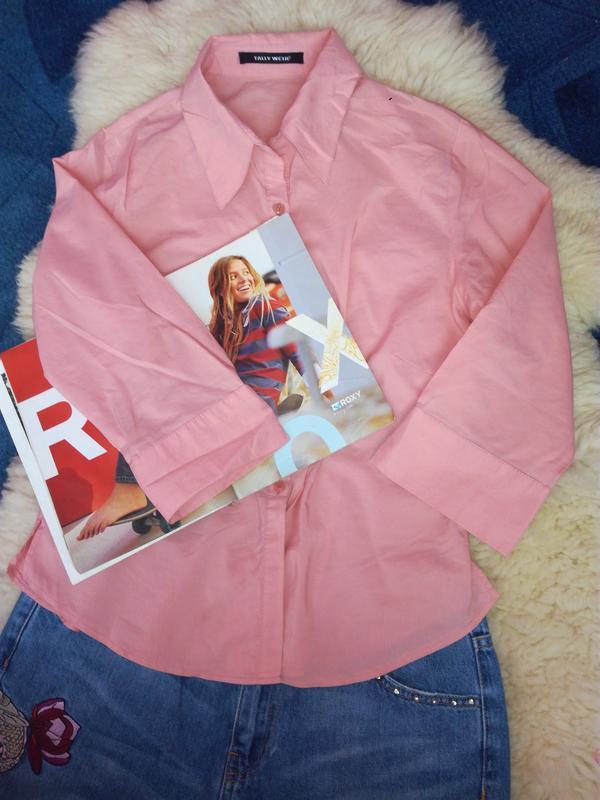 Базова сорочка / рубашка персиковая
