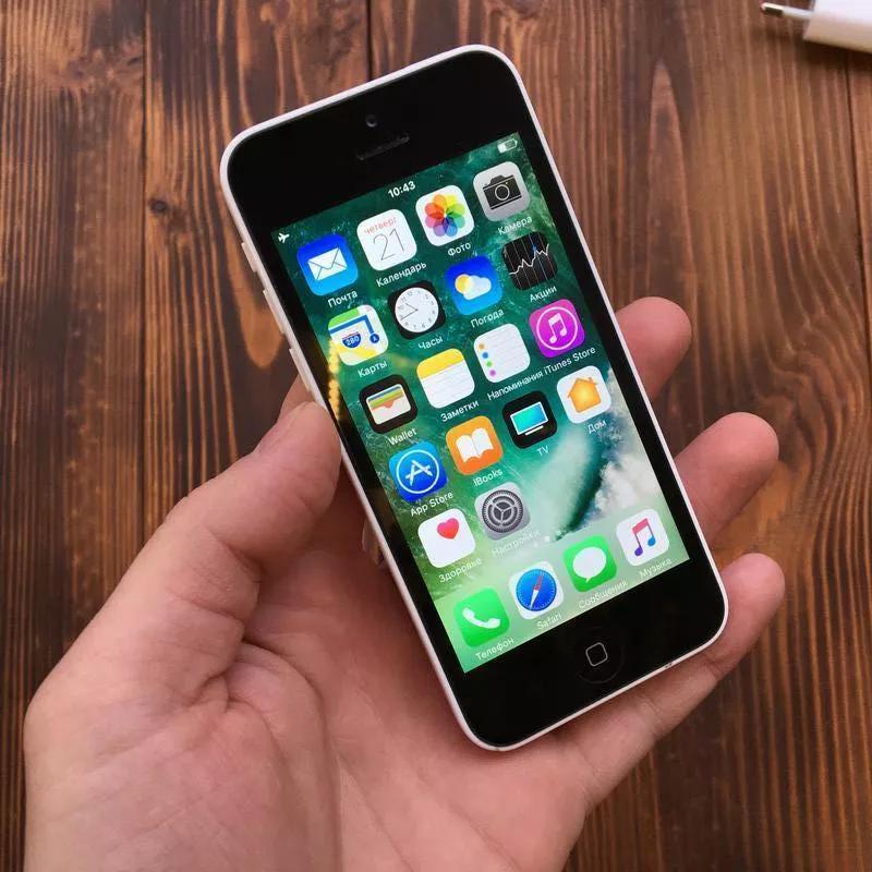 Apple iPhone 5c 16Gb Neverlock White Б/У Оригинал