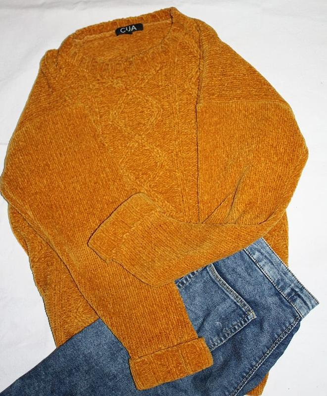 Велюровий светрик🍁бархатный свитер