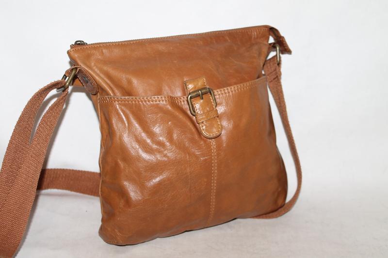 Fat face кожаная сумка мессенджер/сумка через плечо