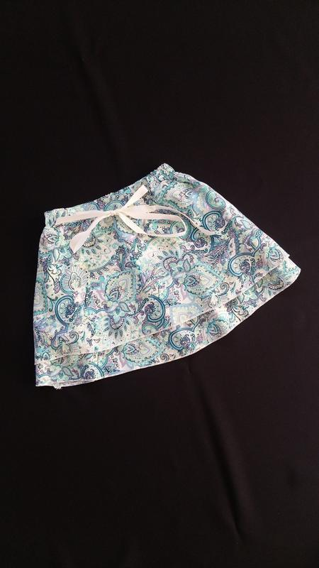 Легкая юбка lulu castagnette (франция) на 5-6 лет (размер 110-...
