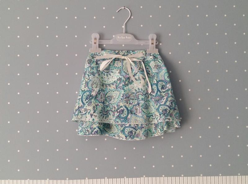 Легкая юбка lulu castagnette (франция) на 5-6 лет (размер 110-... - Фото 4