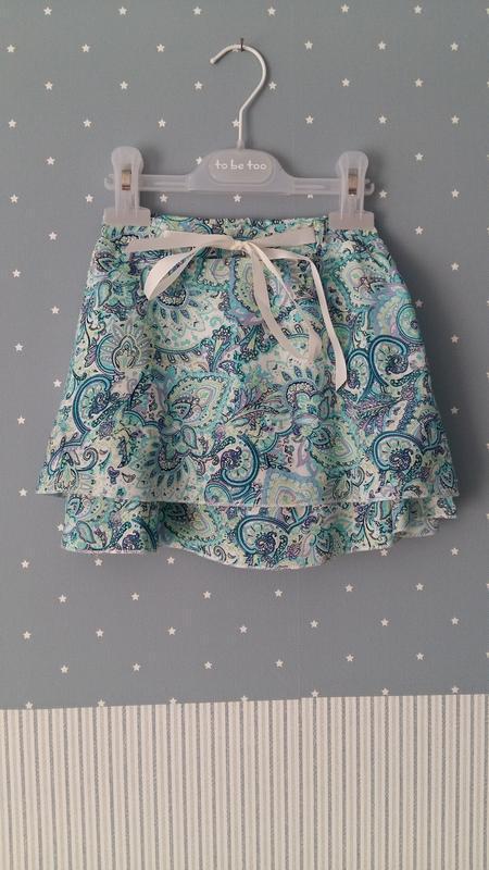Легкая юбка lulu castagnette (франция) на 5-6 лет (размер 110-... - Фото 5