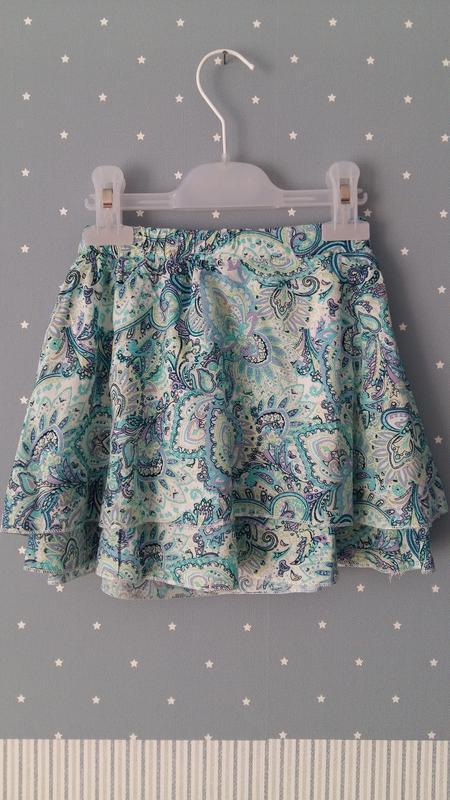 Легкая юбка lulu castagnette (франция) на 5-6 лет (размер 110-... - Фото 6