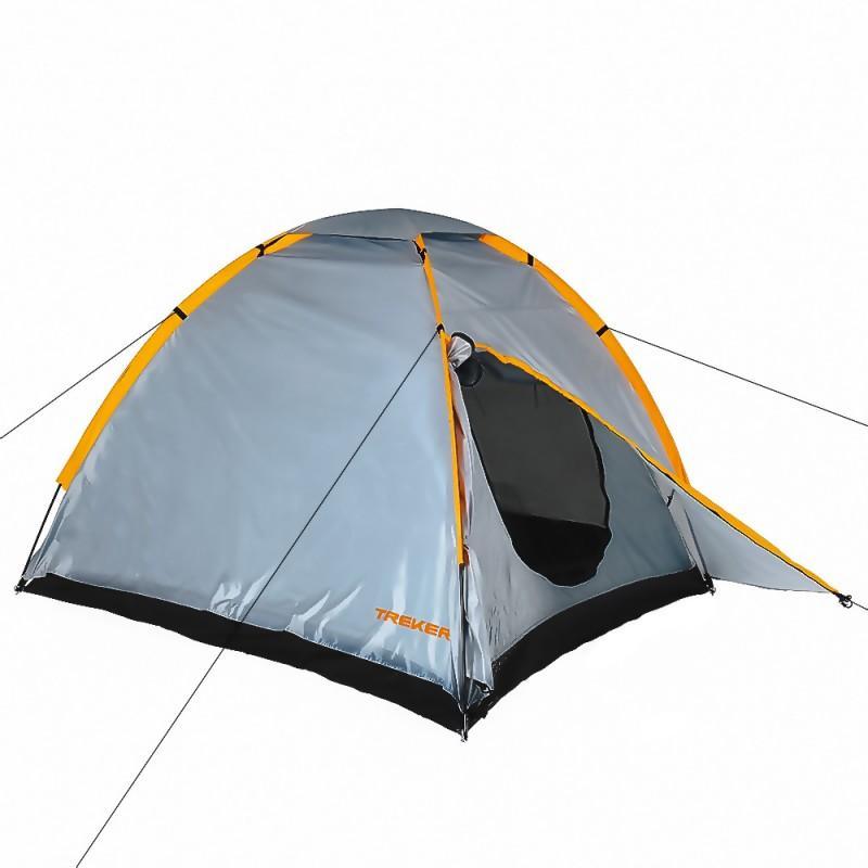 Трехместная двухслойная палатка Treker MAT-115