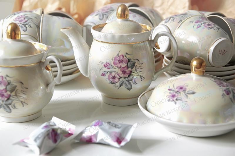 Чайный сервиз на 12 персон 30 предметов - Фото 4