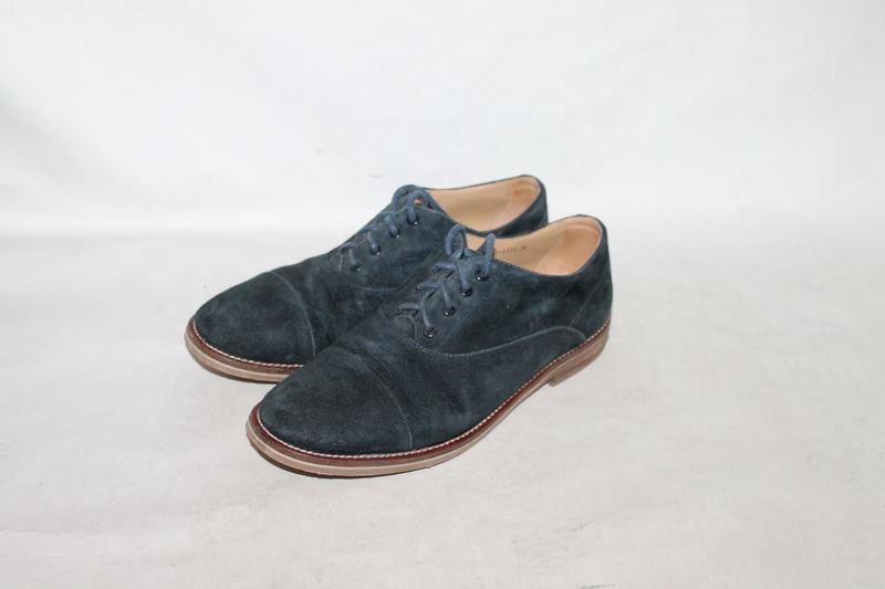 Замшевые туфли оксфорды 36 размер