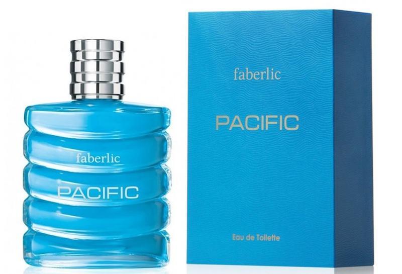 Туалетная вода для мужчин Pacific Faberlic