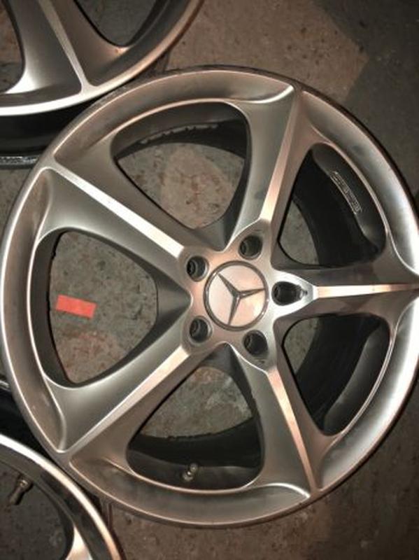 Диски Mercedes Stilauto SR1000 R17 7.5J - Фото 3