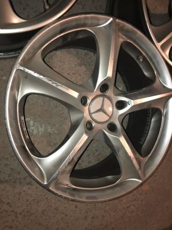 Диски Mercedes Stilauto SR1000 R17 7.5J - Фото 5