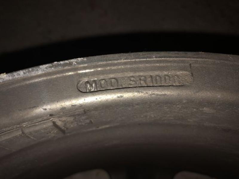 Диски Mercedes Stilauto SR1000 R17 7.5J - Фото 7