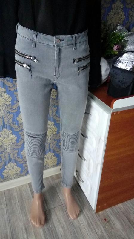 💝стильные узкие скини джинсы zara💝
