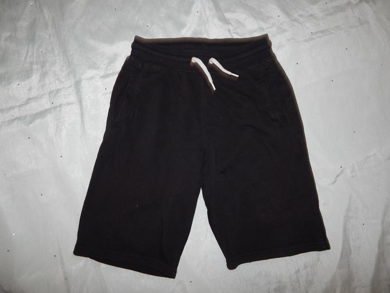 Шорты трикотажные модные на мальчика 10-11 лет 146см