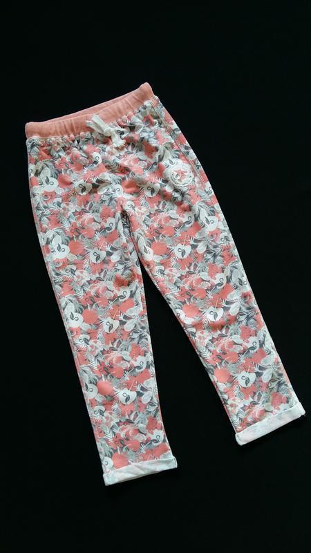 Трикотажные штаны lulu castagnette (франция) на 5-6 лет (разме...