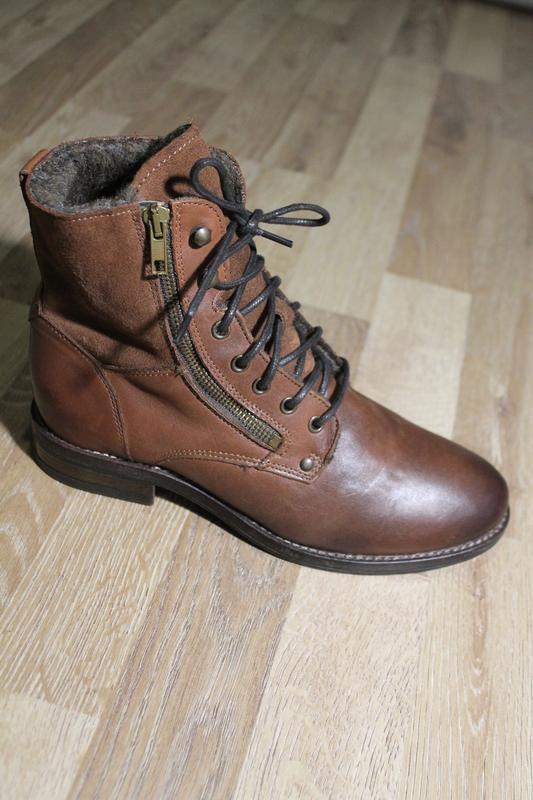 Черевички san marina ботинки кожа