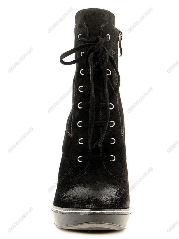 Демисезонные ботинки ellenka ,замша