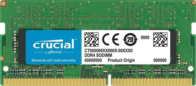 SODIMM DDR4 8Gb 2400 ОЗУ Crucial