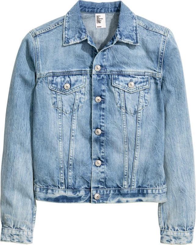 ????????????стильная короткая женская джинсовая куртка, пиджак, жакет r...