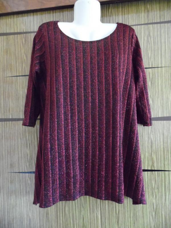 Блуза туника reflections размер 2хl - идет на 52-52+.