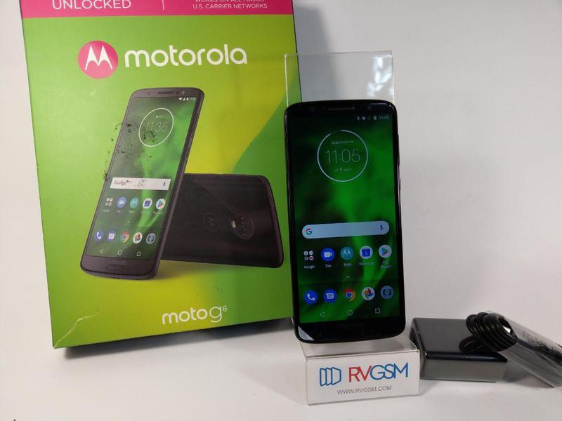 Телефон Motorola Moto G6